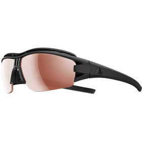 adidas Evil Eye Halfrim Pro Glasses L, black matt/lst active silver/lst bright